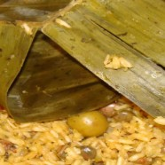 Arroz con Gandules-Puerto Rican Rice and Pigeon Peas – Recipe