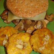 The Best Lean Hamburgers Ever with Swiss Cheese and Sauted Mushroom Sauce – Recipe