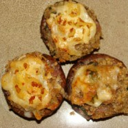 Stuffed Mushrooms – (whole wheat)