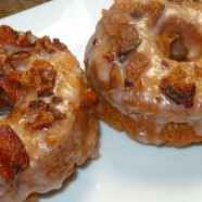 Pumpkin Bacon Doughnuts